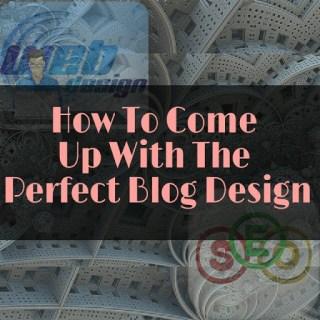 perfect blog design