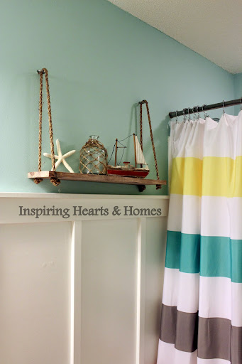 swing shelf, nautical, swing shelf pottery barn kids
