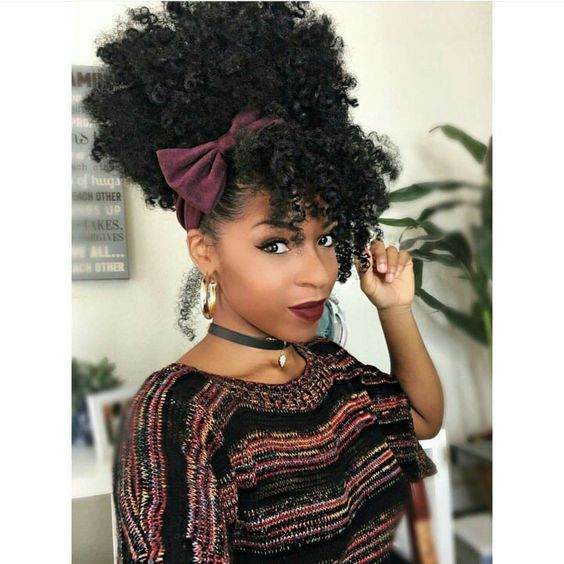 2018 natural hairstyles black