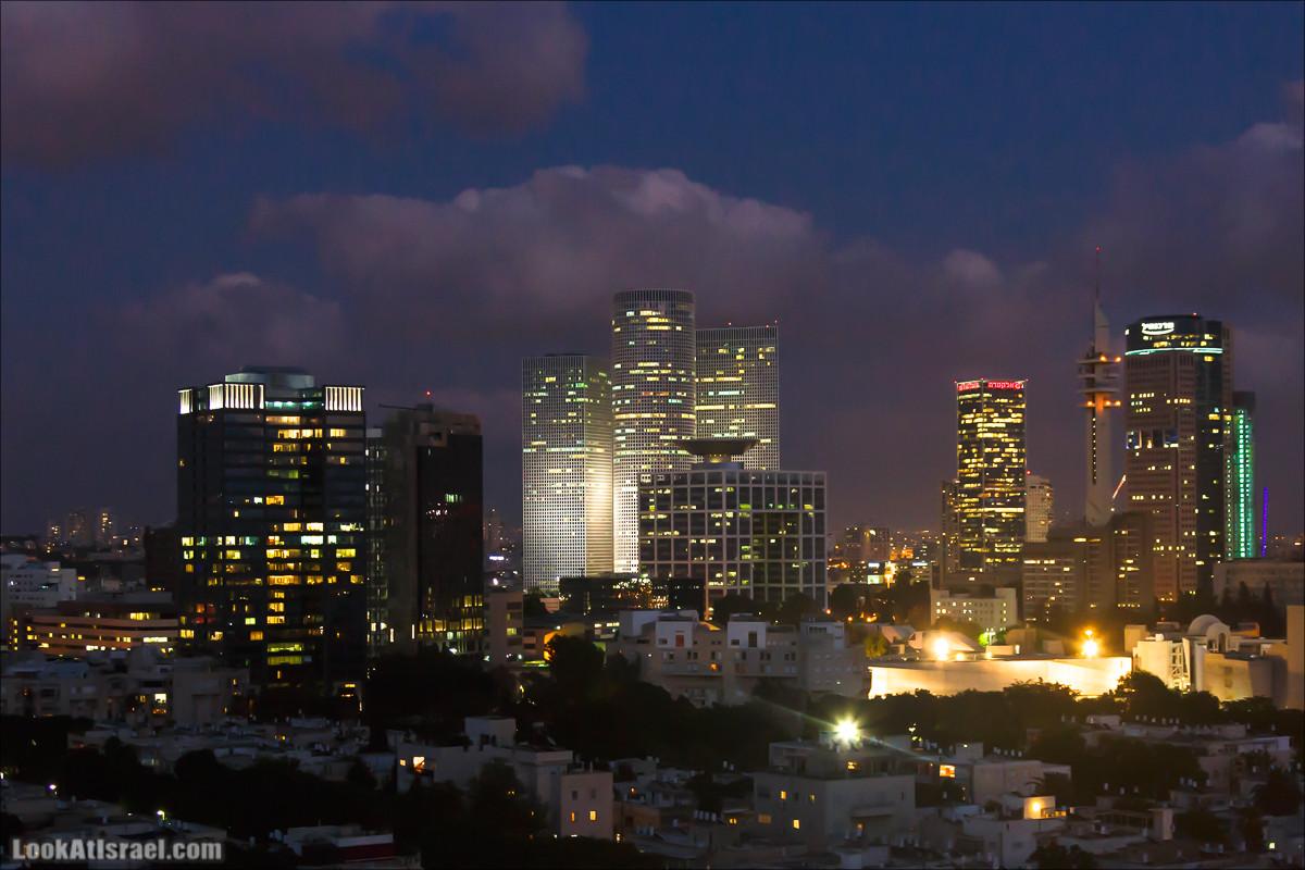 Тель Авив с крыши муниципалитета (ирии)   Tel Aviv municipality roof view   על הגג של עיריית תל אביב   LookAtIsrael.com - Фото путешествия по Израилю
