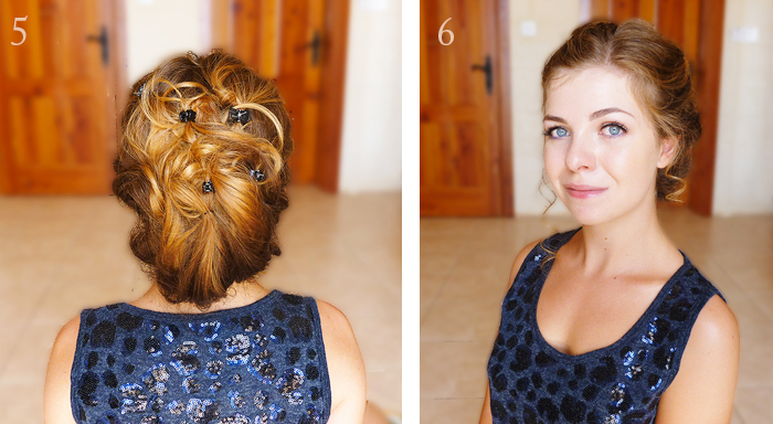 tuto cheveux, coiffure floue, tuto step by step, idée de coiffure, coiffure facile et élégante