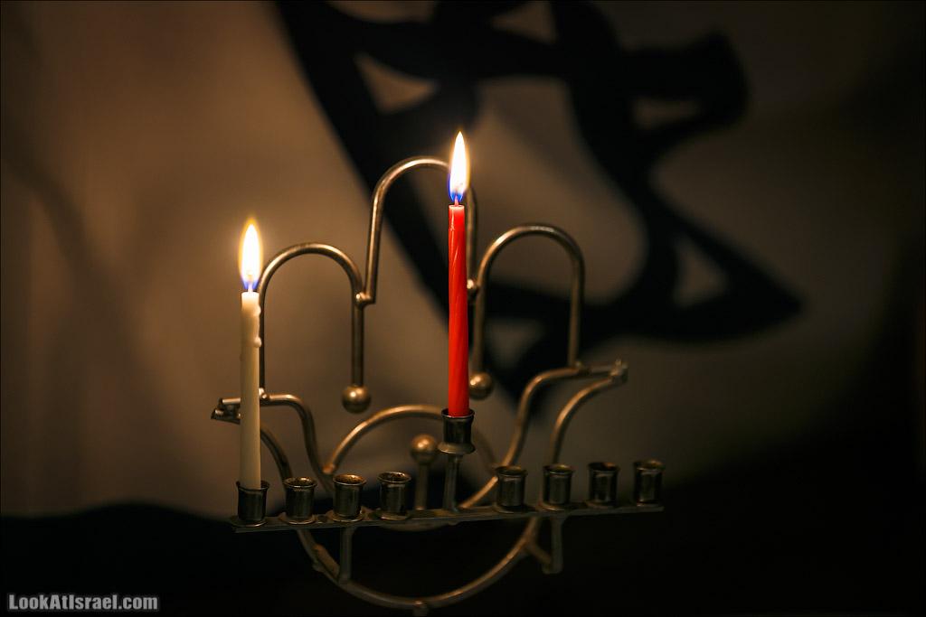 Первая ханукальная свеча