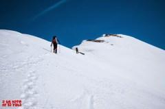 Llegando a la cima. © aunpasodelacima