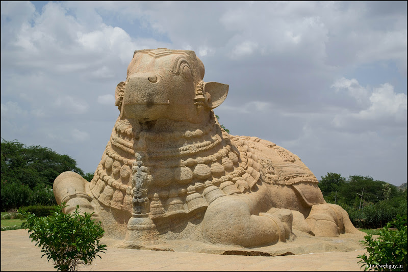 The Nandi at Lepakshi