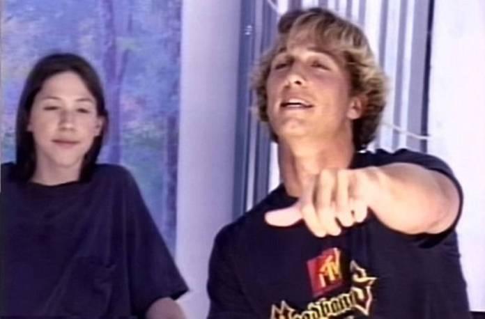 Imágenes del primer casting de Matthew McConaughey