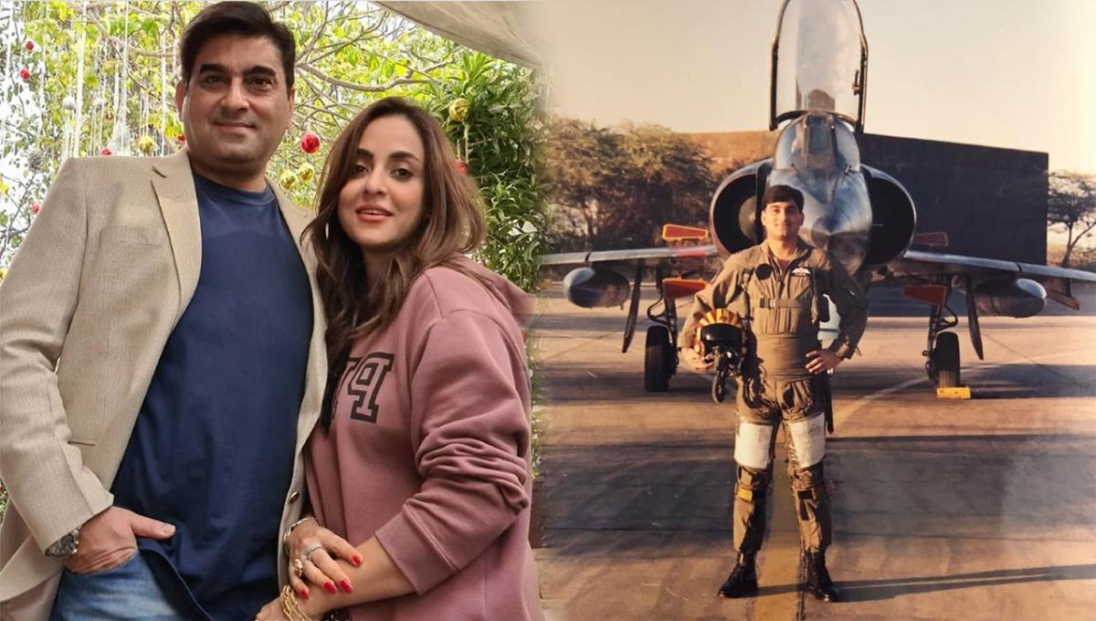 Nadia Khan 2nd Husband is a fighter pilot. check full details of Nadia Khan Husband Wing Commander Faisal Mumtaz