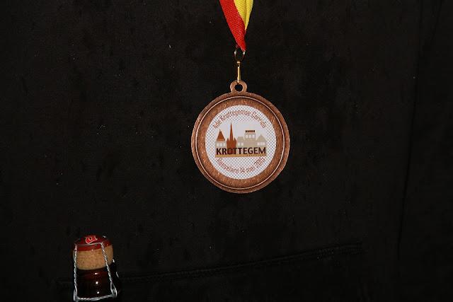 medaille Krottegemse corrida