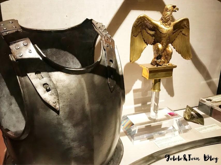 Armaduras en el Museo Naval de Madrid