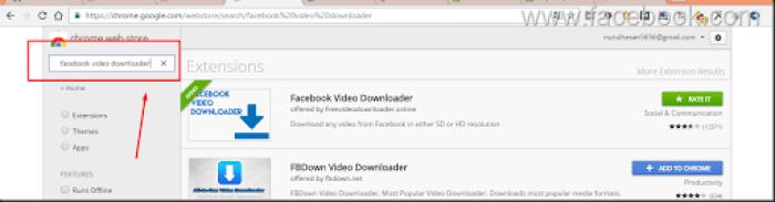 cara download video facebookmudah