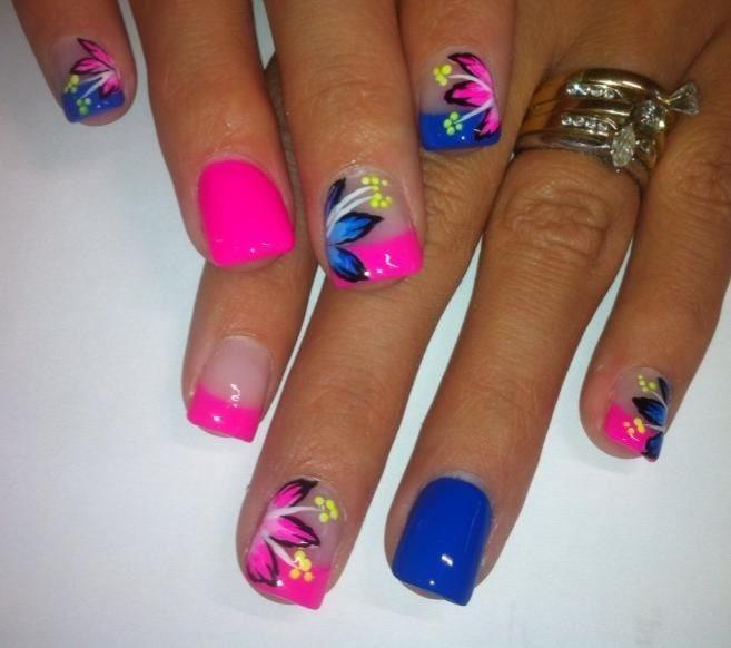 Cute Summer Acrylic Nails Art