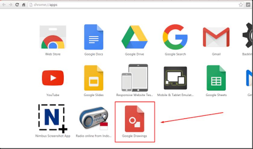 cara memainkan google drawings