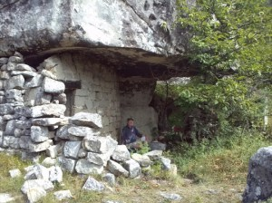 Picnic on the Grès path