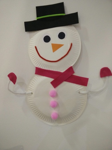 A Paper Plate Wreathu2026 & Merry Christmas from Craft Space! u2013 Designed With Passion