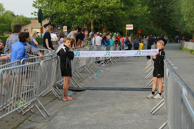 de finish line van Roeselare