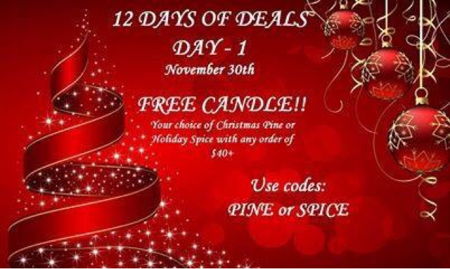 November 30  Free candle with any $40+ order — Holiday Pine or Holiday Spice CODE: PINE or SPICE at https://maryvjjj1.avonrepresentative.com/