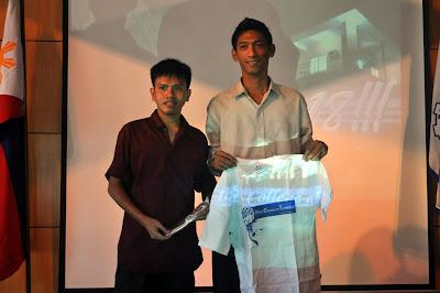Jolas Lazaro and Sidrick Camba receives special citation