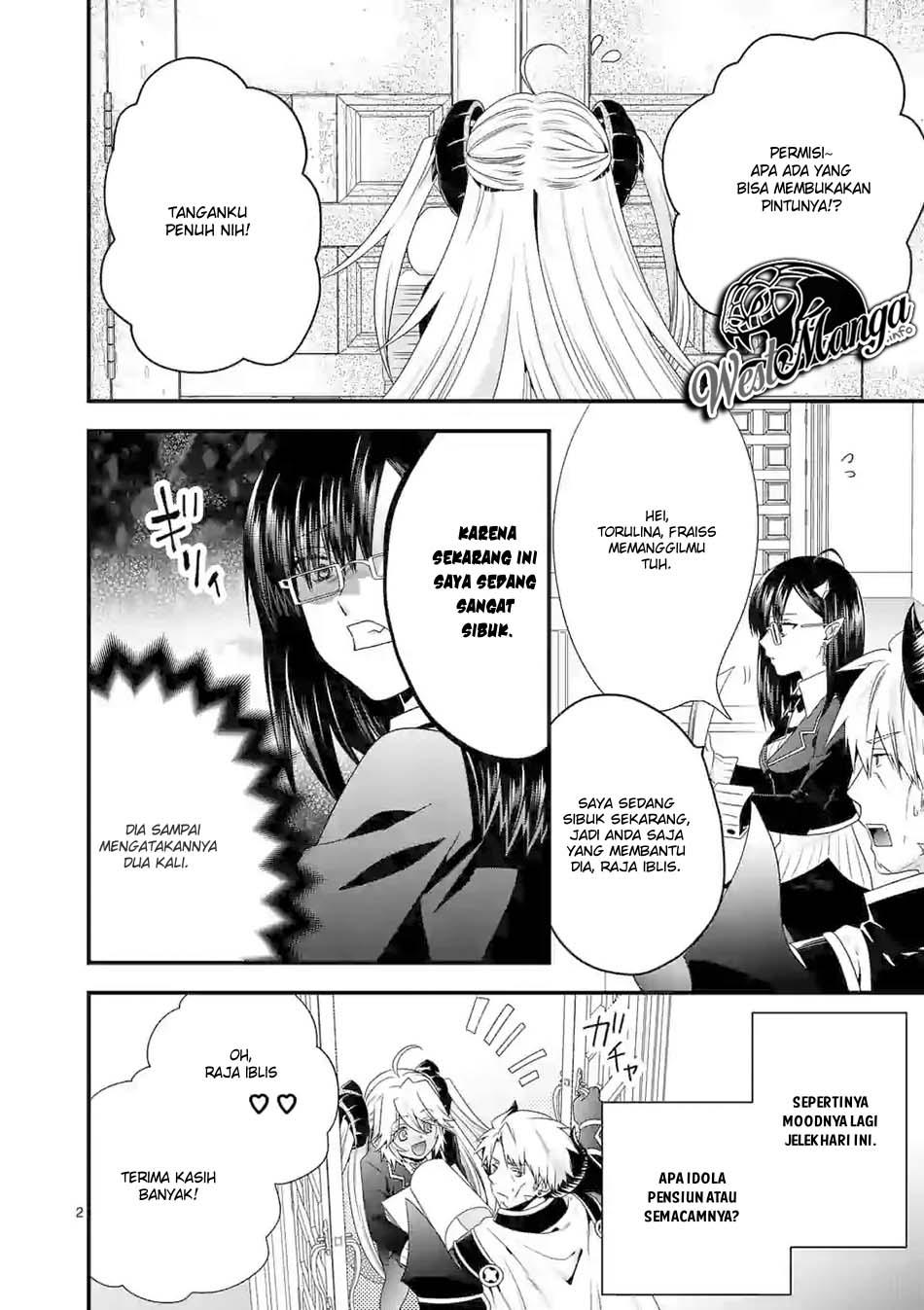 Maou desu Onna Yuusha no Hahaoya to Saikon Shita no de Onna Yuusha ga Giri no Musume ni Narimashita: Chapter 30 - Page 3