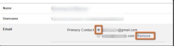 cara menghapus email di facebook