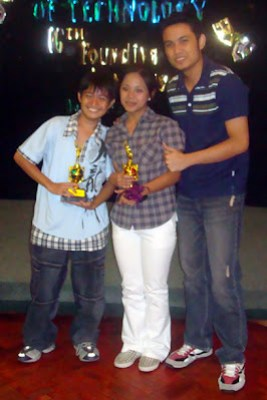 Best Deaf Culture Drama Actors Jefferson Javier and Jepa Kerena Basilio with Sir Jerome Marzan