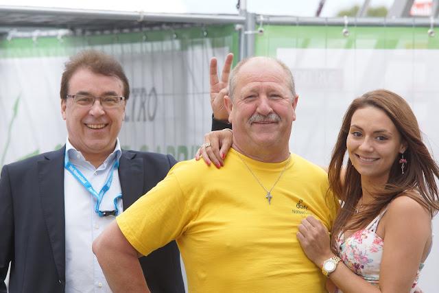Bart Santy, Luk Desseyn en Laura Santy