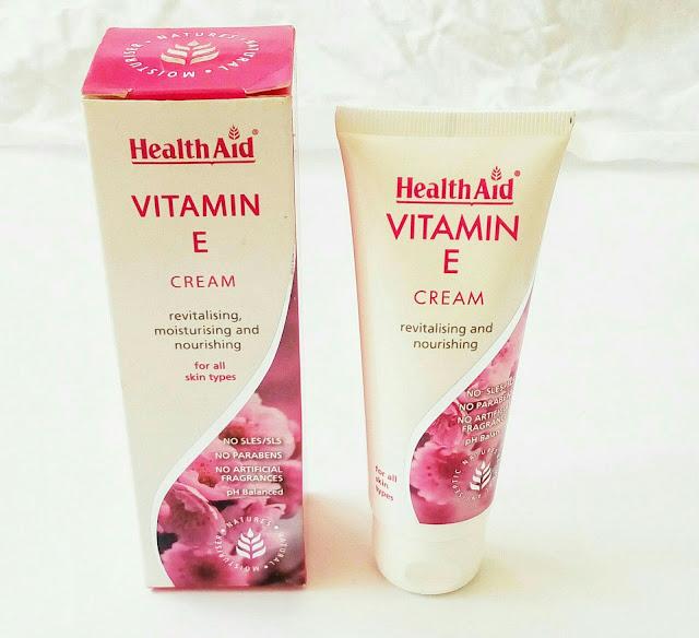 healthaid vitamin e cream review
