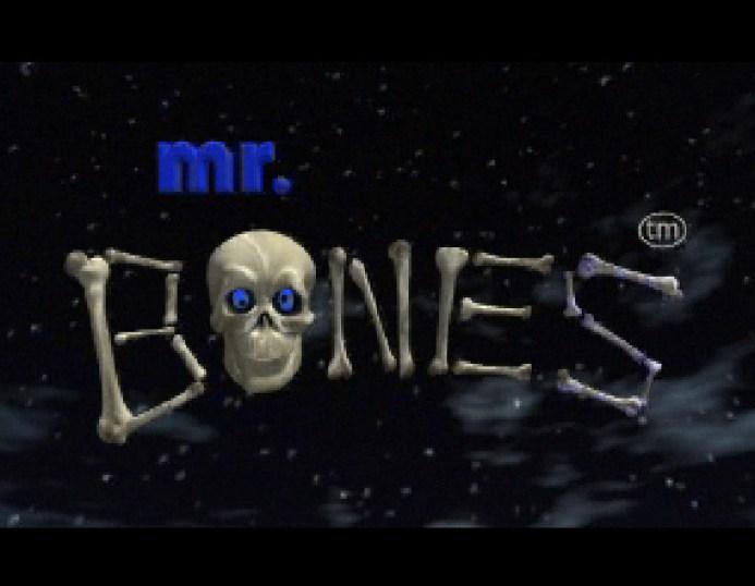 Tela título de Mr. Bones (Saturn)