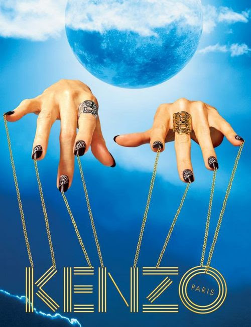 Simbol tangan yang mengendalikan boneka pengguna kenzo