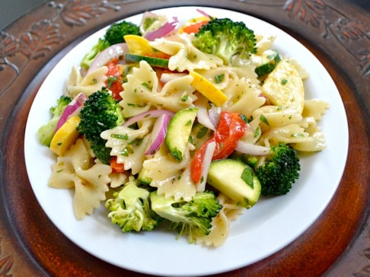 Image result for Vegetable Pasta Salad