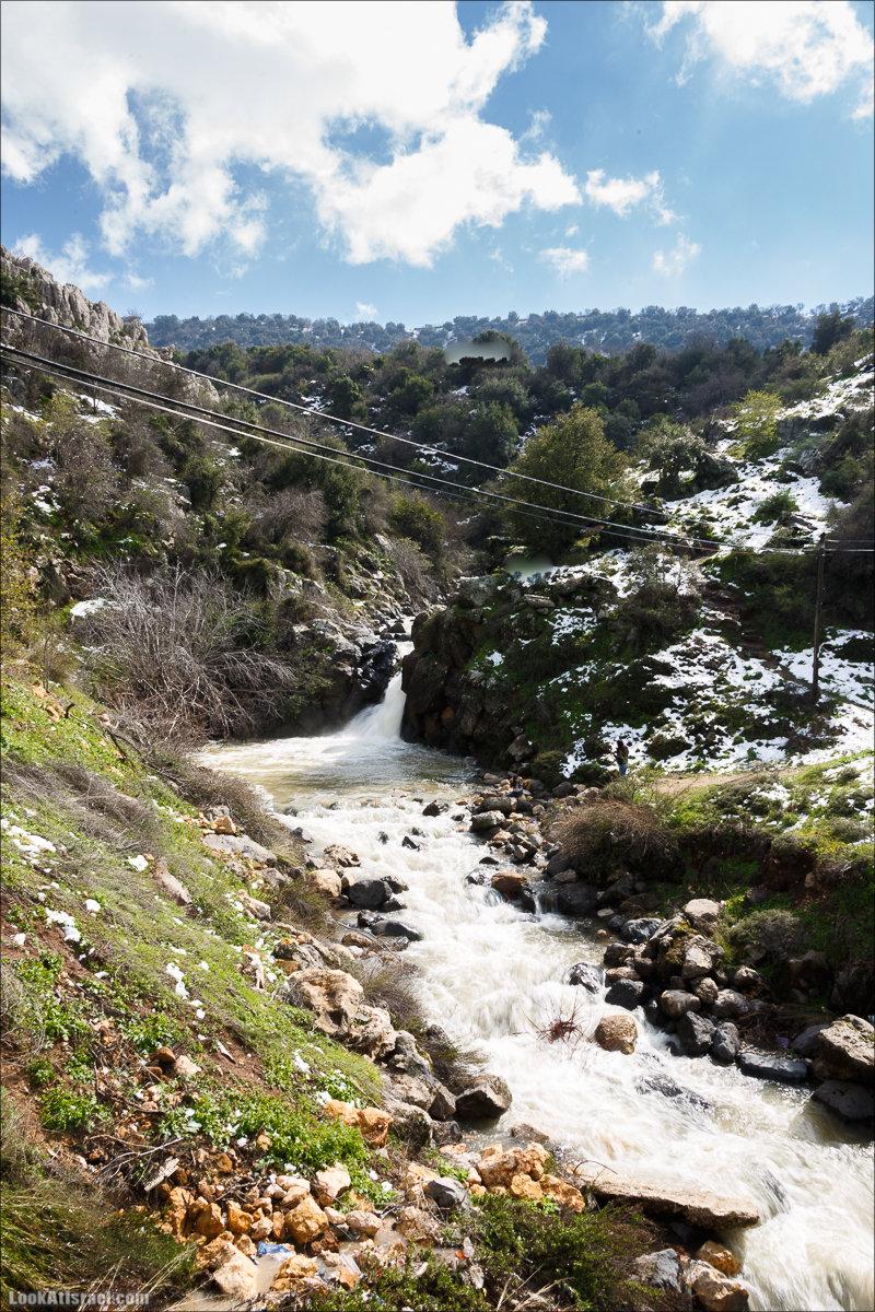 Водопад Танур | LookAtIsrael.com - Фото путешествия по Израилю