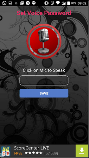 cara mengunci android dengan suara
