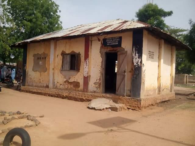 See Photos Of Nigeria Security & Civil Defence Corp Office In Borno That Have Gone Viral
