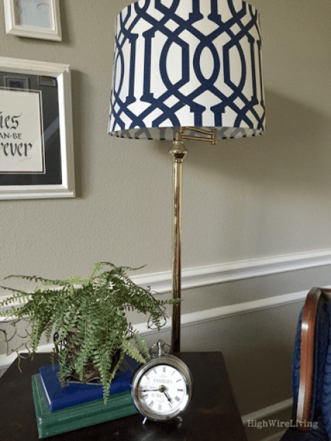 target lampshade clock fern hymnals