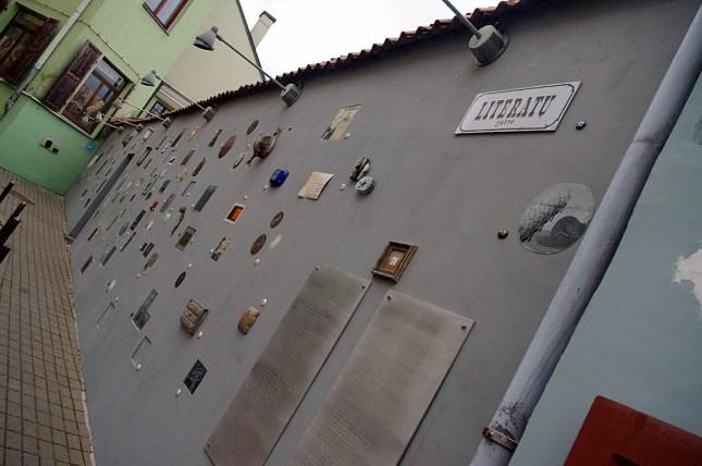Qué ver en Vilna. Calle literatos, Vilna, Vilnius