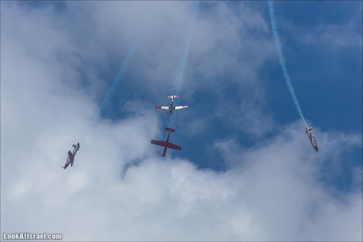 День независимости  - Авиационный парад над Тель Авивом | Israel Independence dayIsrael - Air Force over Tel Aviv | LookAtIsrael.com - Фото путешествия по Израилю