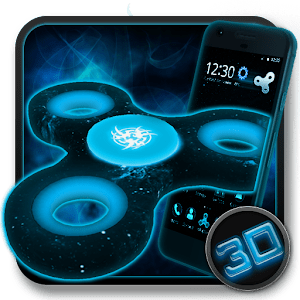 Fidget Spinner Space 3D Theme - Android Apps on Google Play