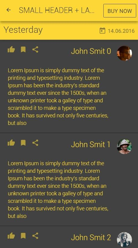 Ionic UI Theme - Yellow Dark - Android Apps on Google Play