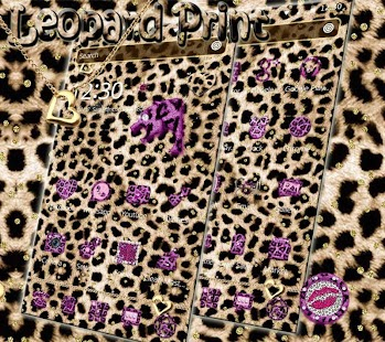 Pink Gold leopard Print Theme - Android Apps on Google Play
