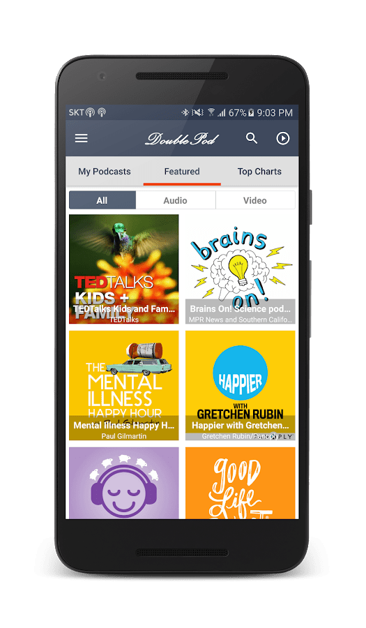 DoublePod Podcasts for android - Android Apps on Google Play