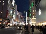 こんな「Apple Store 銀座」でした。