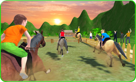 Kids Mountain Horse Rider Race   Apps on Google Play Screenshot Image