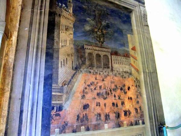Флоренция. Палаццо Веккьо. 30 октября 2014 г ...
