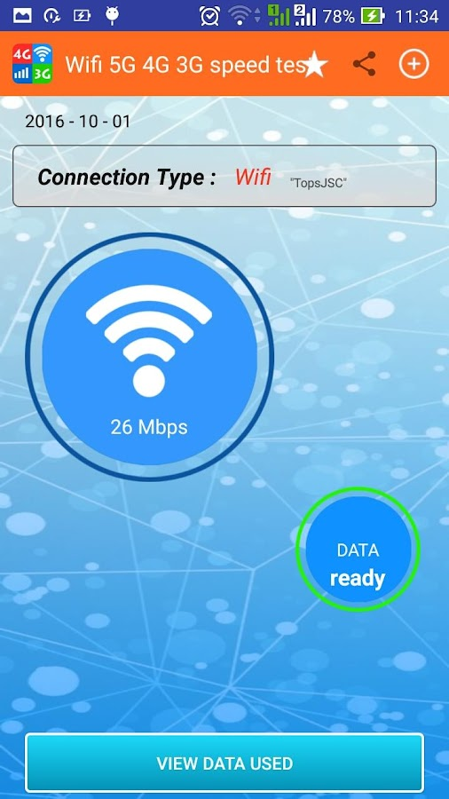 Wifi, 5G, 4G, 3G speed test - Android Apps on Google Play