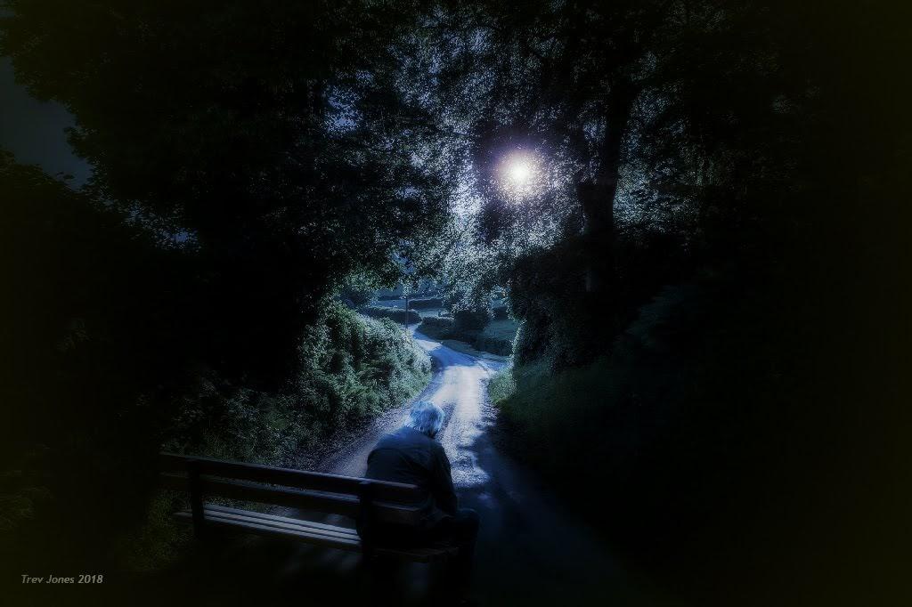 Pye Corner At Night