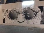 こんな「渋谷のアートウォール」でした。