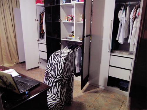 O quarto da Bruna Vieira