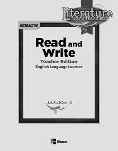 McGraw-Hill - Read and Write Course 4 Grade 9 Teacher's Book, 358 Pages