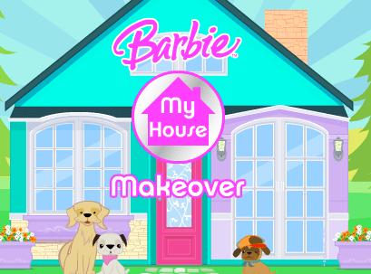 barbie my house makeover game free online kid games - House Decorating Games
