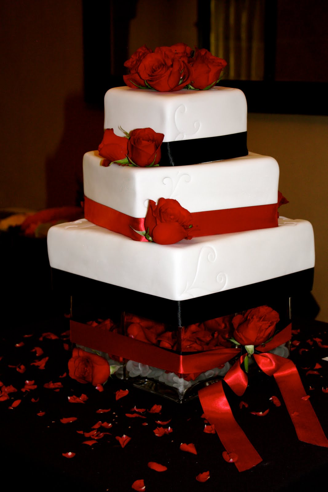 Sandrasimon s blog  black white red wedding jessica brent  black  red and