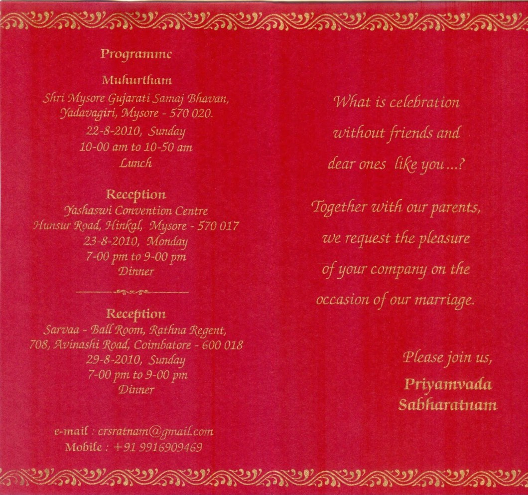 Quotes For Wedding Invitation Cards Indian | Invsite.co