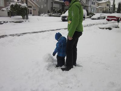 Snow Person Building